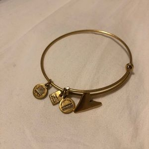 Rare Alex and Ani Shark Fin Bracelet